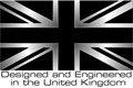 designed and engineered in the UK